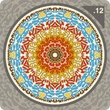 ornamentu abstrakcjonistyczny kolorowy wektor Zdjęcia Royalty Free