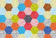 ornamentu kwiecisty patchwork Obrazy Royalty Free