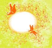 ornamentu motyli kwiecisty ilustracyjny wektor royalty ilustracja