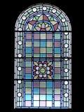 ornamentu okno Zdjęcie Stock