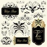 ornamentu rocznik Obraz Royalty Free