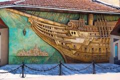 Ornamentu statek Obrazy Royalty Free