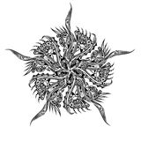 ornamentu tatuaż Obrazy Royalty Free