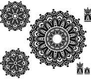 Ornamentu wzór z deseniowym arogantem Obrazy Stock