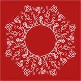 ornamentu wzoru rośliny bezszwowa rocznika tapeta Obrazy Stock