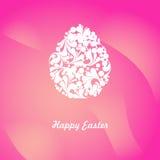 Ornamentuje jajko na menchiach Zdjęcia Royalty Free