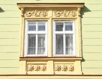 ornamentuje okno Zdjęcia Royalty Free