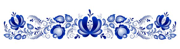 ornamentuje rosjanina Obraz Royalty Free