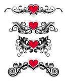 ornamentuje valentine Fotografia Royalty Free