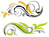 ornamenty dwa Ilustracja Wektor