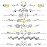 Ornamenty (eps10) Obraz Stock