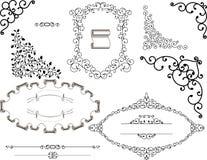 ornamenty ustawiają rocznika Fotografia Royalty Free