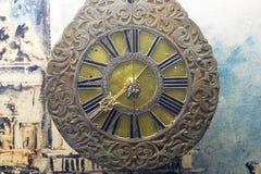 Ornate Antique Clock Stock Photo