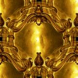 Ornate antique design background Royalty Free Stock Photography