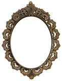 Ornate antique frame Royalty Free Stock Image