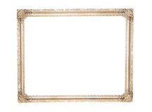 Ornate antique gold gilt frame Stock Photography