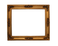 Ornate Antique and golden frame Royalty Free Stock Photos