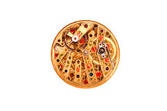 Ornate antique watch movement Royalty Free Stock Images
