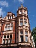 Ornate apartment building Stock Photo