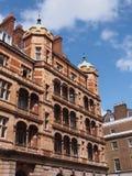 Ornate apartment building Stock Image