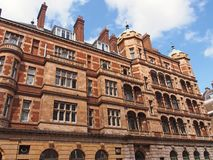 Ornate apartment building Royalty Free Stock Images