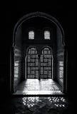 Ornate arabesque window Royalty Free Stock Image