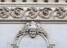 Ornate art nouveau building Stock Image
