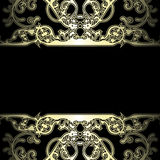 Ornate background Royalty Free Stock Images