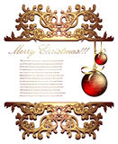 Ornate background Stock Photo