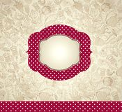 Ornate background with frame Royalty Free Stock Images