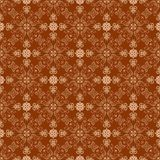 Ornate background, tileable. Ornate  wallpaper that will tile seamlessly Stock Images