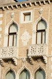 Ornate balconies Royalty Free Stock Photos