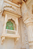 An Ornate balcony of Jaswant thada Royalty Free Stock Photo