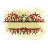 Ornate banner Royalty Free Stock Photo