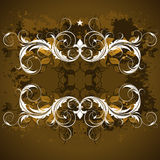 Ornate banner Royalty Free Stock Image