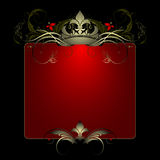 Ornate banner Royalty Free Stock Images