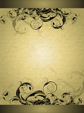 Ornate banner Stock Photography