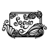Ornate Bar of Soap Royalty Free Stock Image