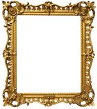 Ornate Baroque Gold Frame Royalty Free Stock Image
