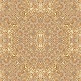 Ornate Baroque Seamless Pattern Mosaic Royalty Free Stock Photos