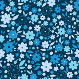 Ornate beauty flower seamless pattern. Abstract floral original background. Stock Image