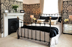 Ornate bedroom Royalty Free Stock Photos