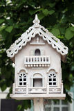 Ornate birdhouse Royalty Free Stock Photo