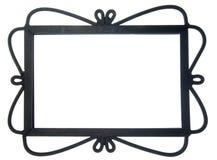 Ornate Black Frame Royalty Free Stock Image