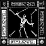 Ornate Black White Skeleton Royalty Free Stock Image