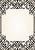 Ornate border Royalty Free Stock Photos