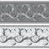 Ornate border Stock Image