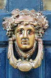 Ornate brass door knocker Royalty Free Stock Images