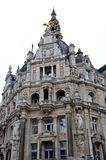Ornate building in Antwerp Stock Photography