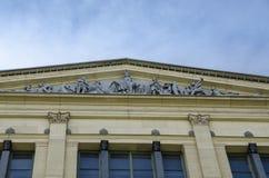 Ornate Building Facade Royalty Free Stock Photos